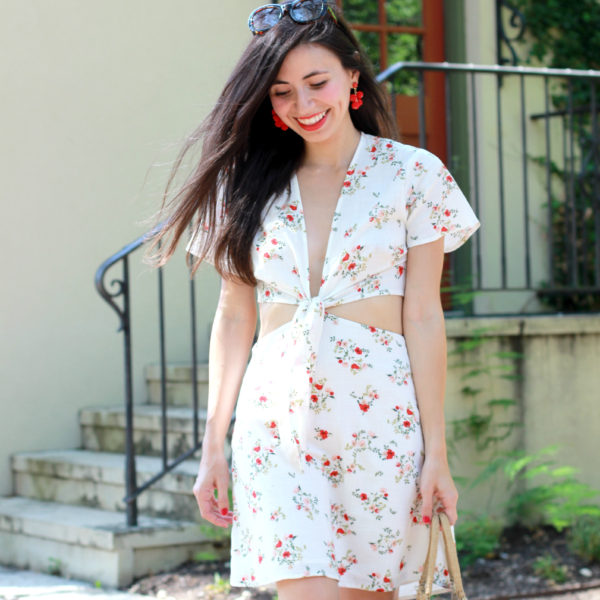 The Cutest Floral Mini: (ON SALE!)