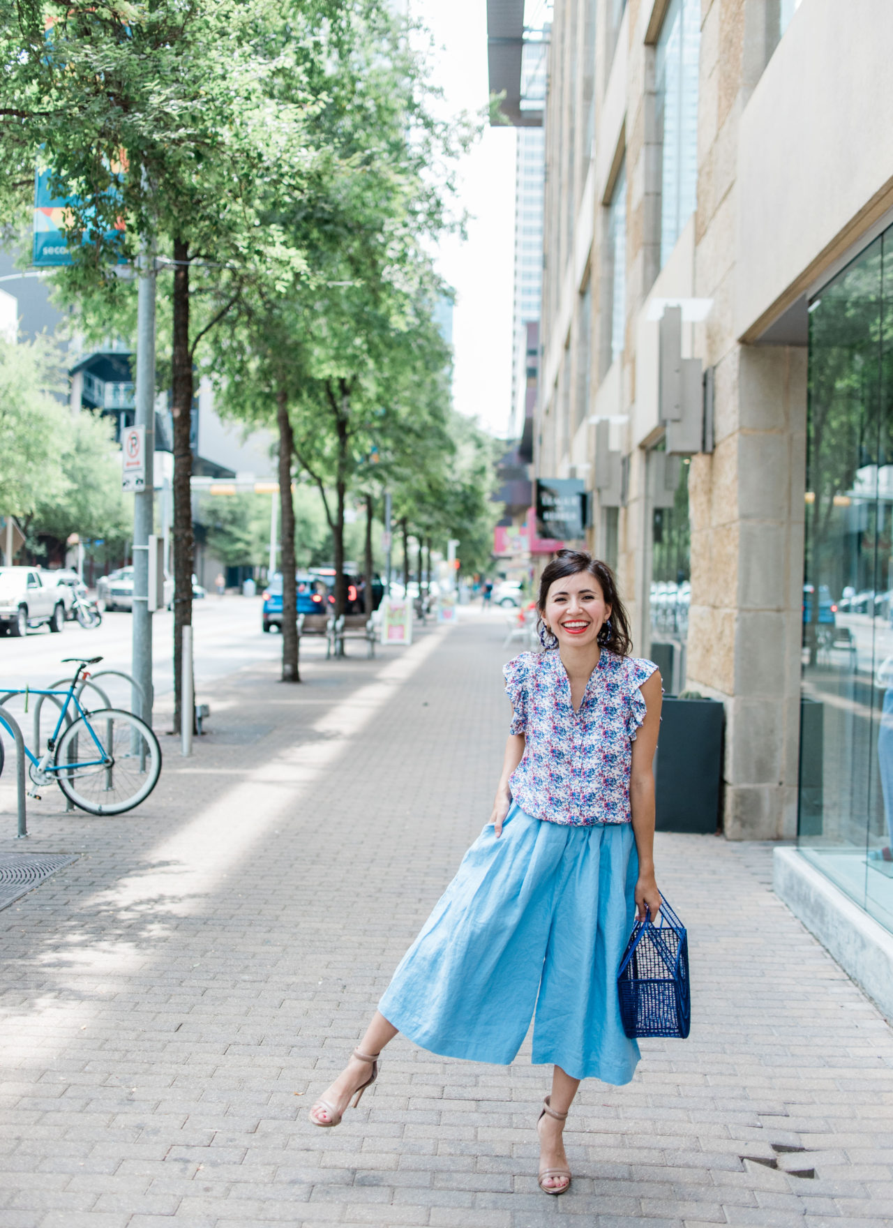 All Blue Everything + A Love Letter To Anthropologie