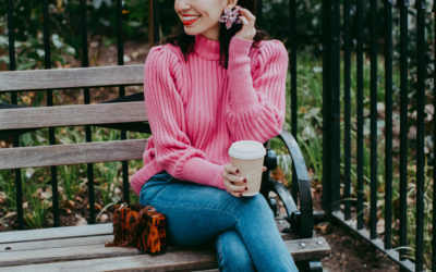 The Prettiest Pink Sweater
