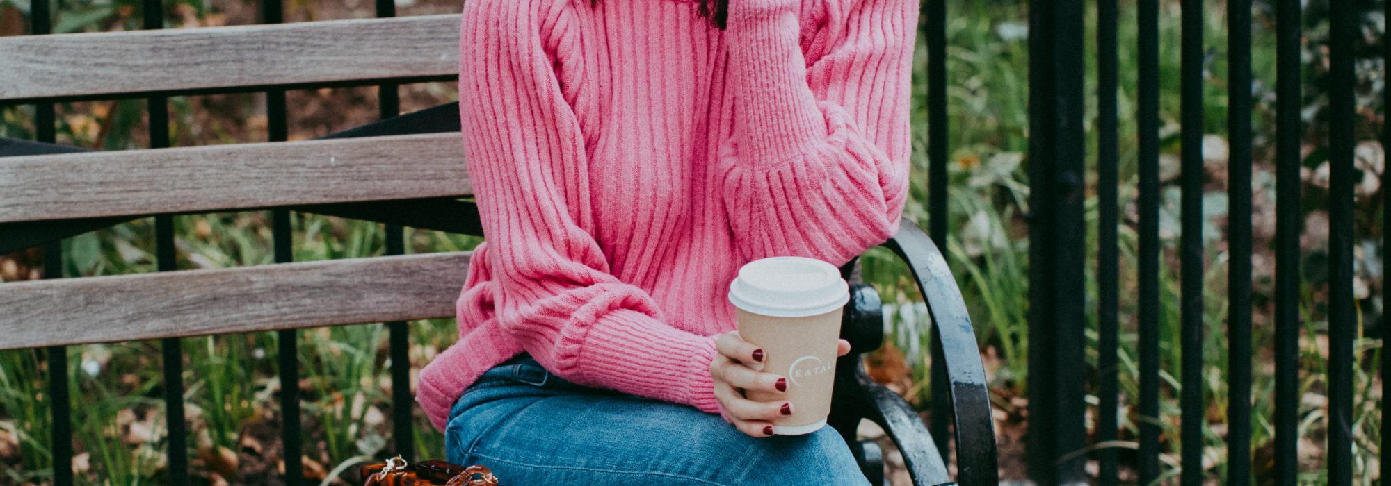The Prettiest Pink Sweater