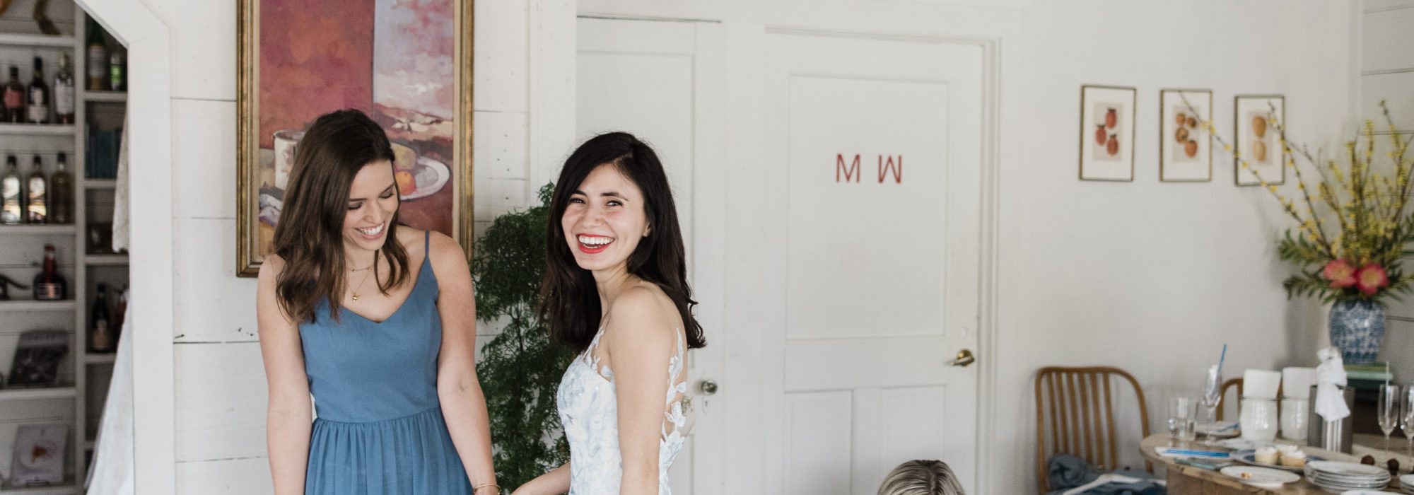 Wedding Wednesday: Dress Try-On Party with Revelry